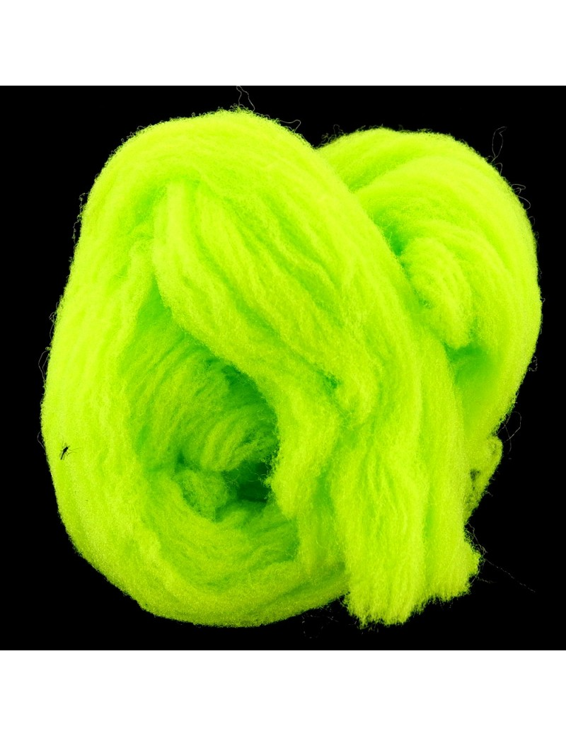 Egg yarn chartreuse fluo