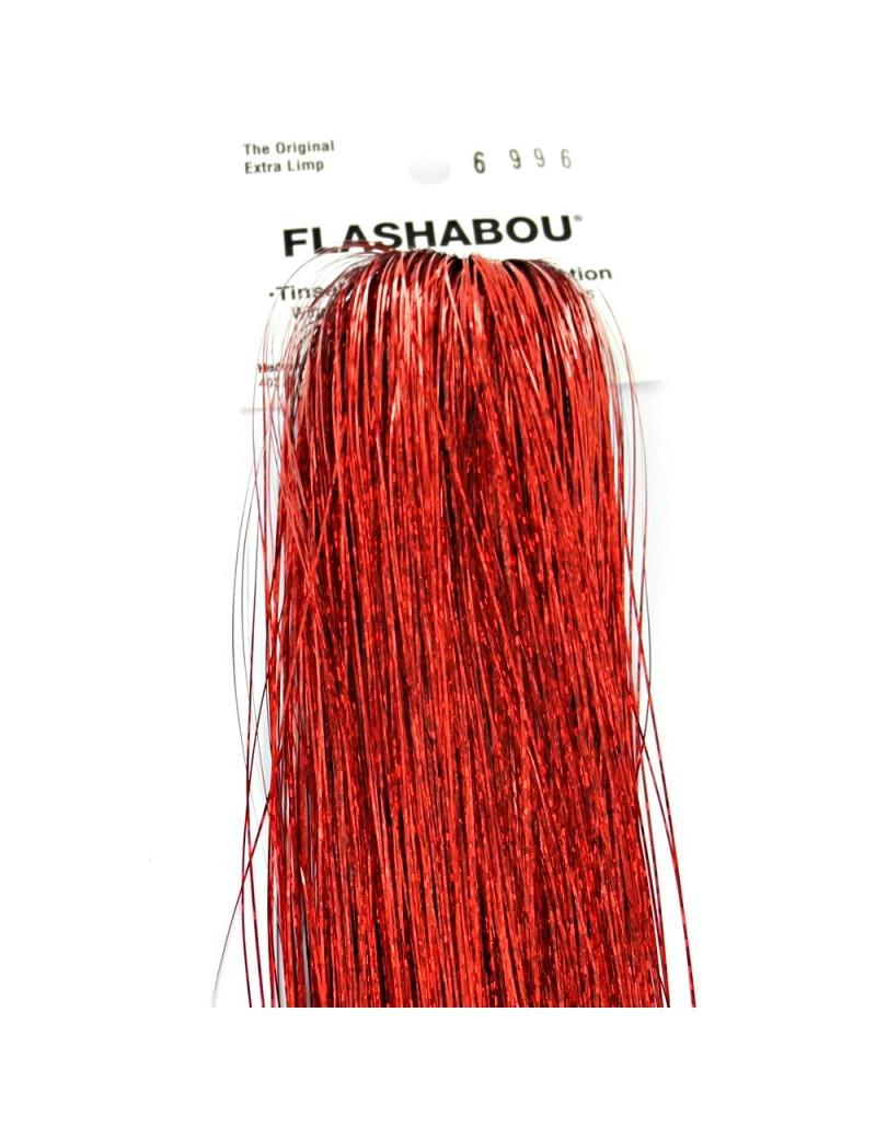 Flashabou holographique rouge-6996