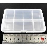 Boite plastique 8 cases