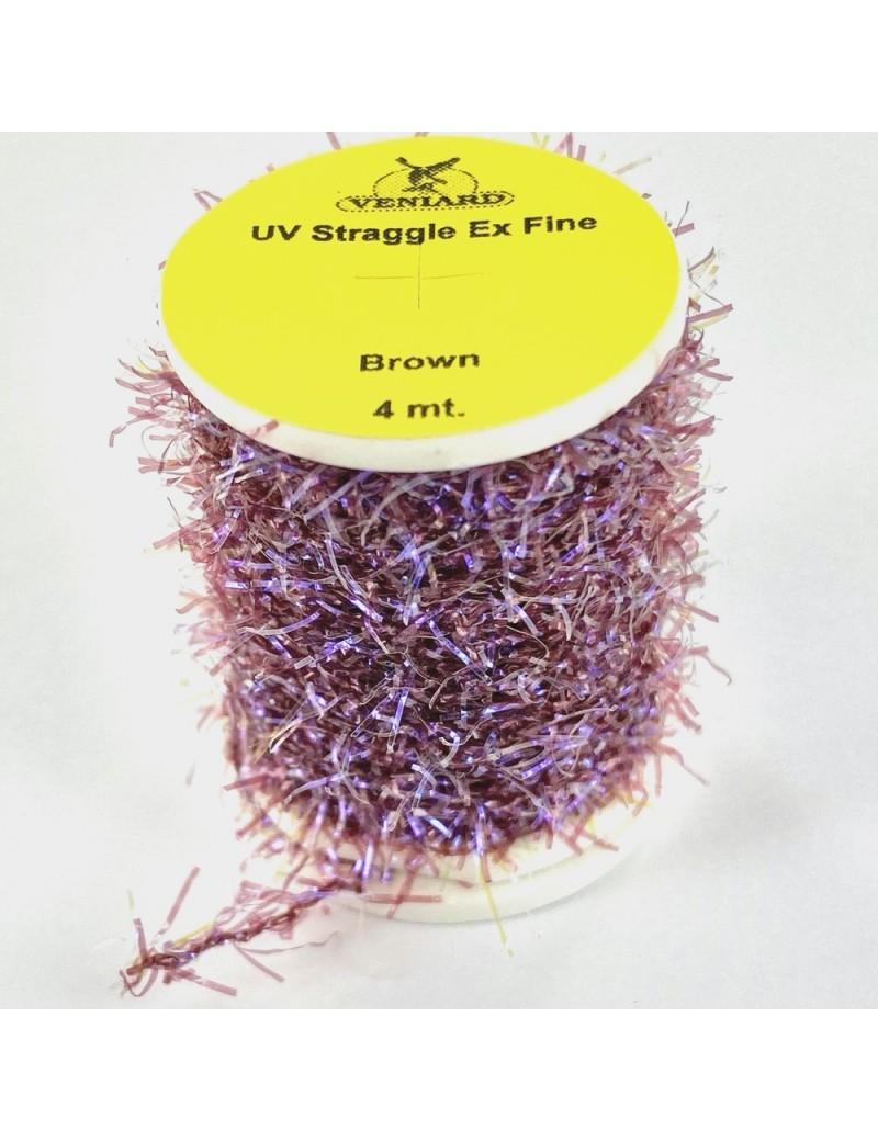 Chenille straggle UV brown violet