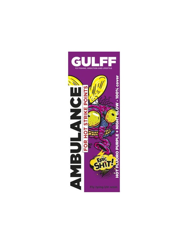 Résine UV Gulff hot violet fluo