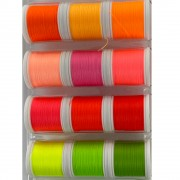 Neon thread fluo 12 couleurs