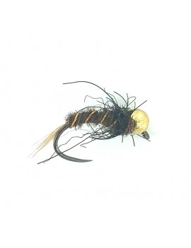Nymphe tungstène bille or 6