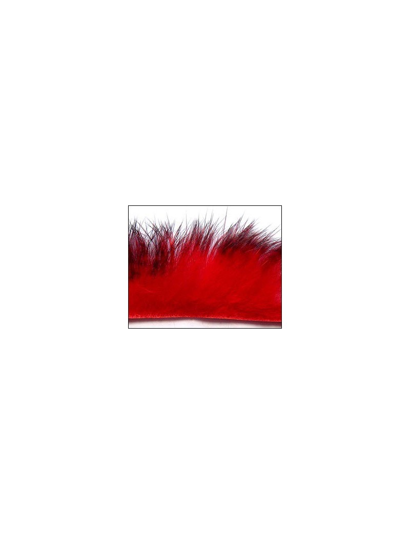 Bandelettes lapin Rouge/noir