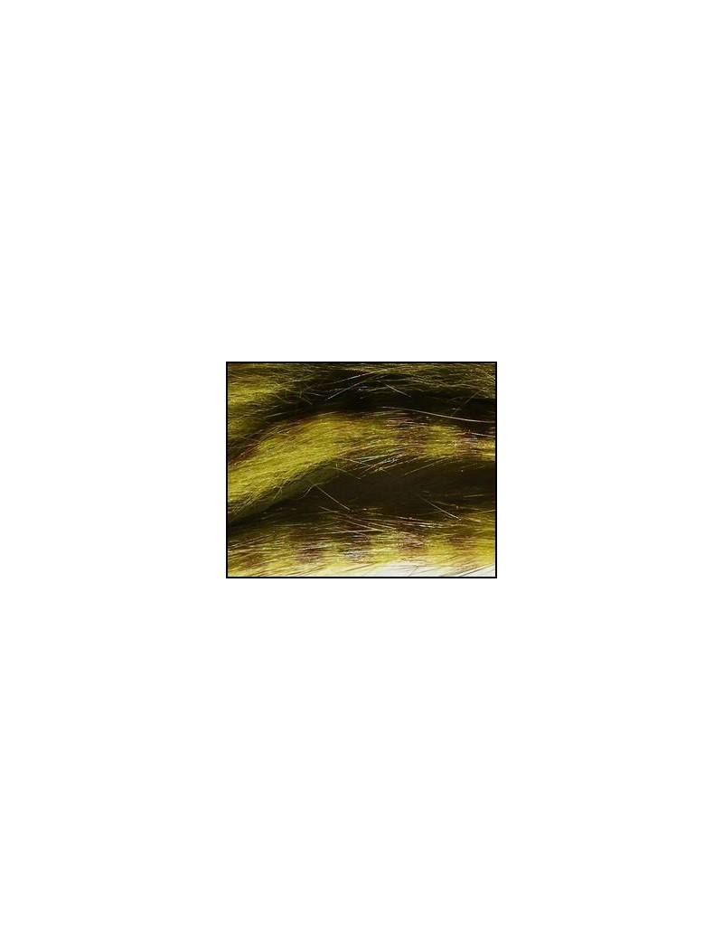 Bandelettes lapin zébrées olive 08-4
