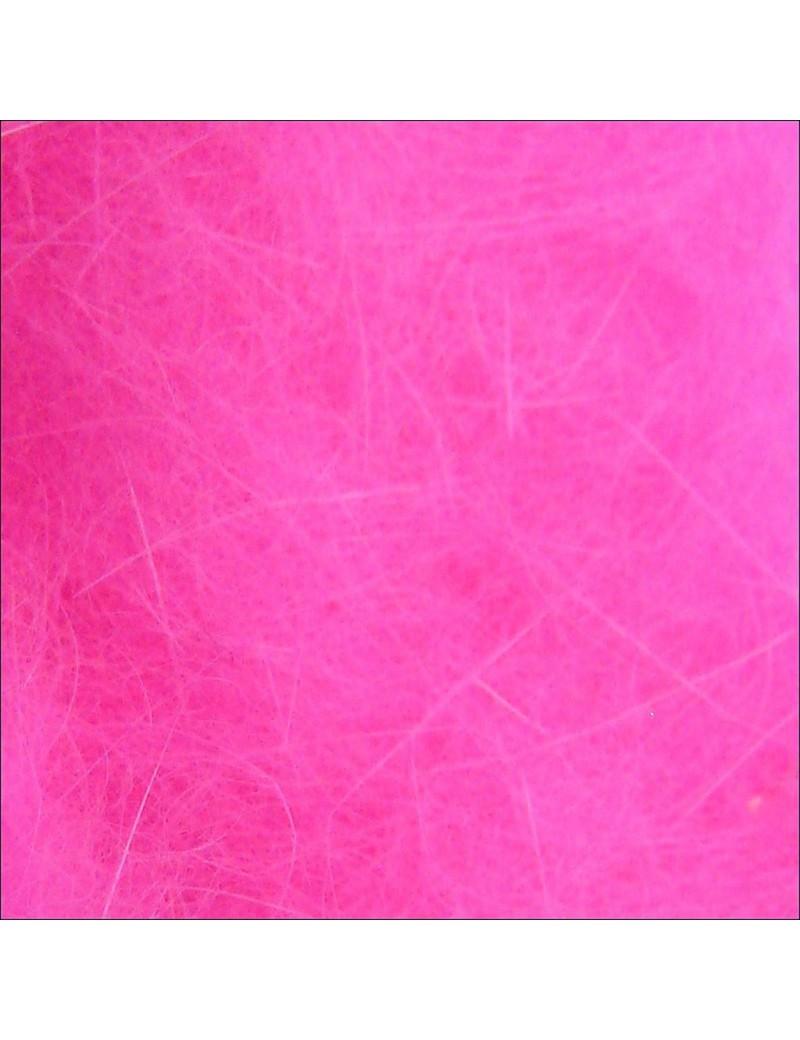 Dubbing Tchèque rose fluo-241