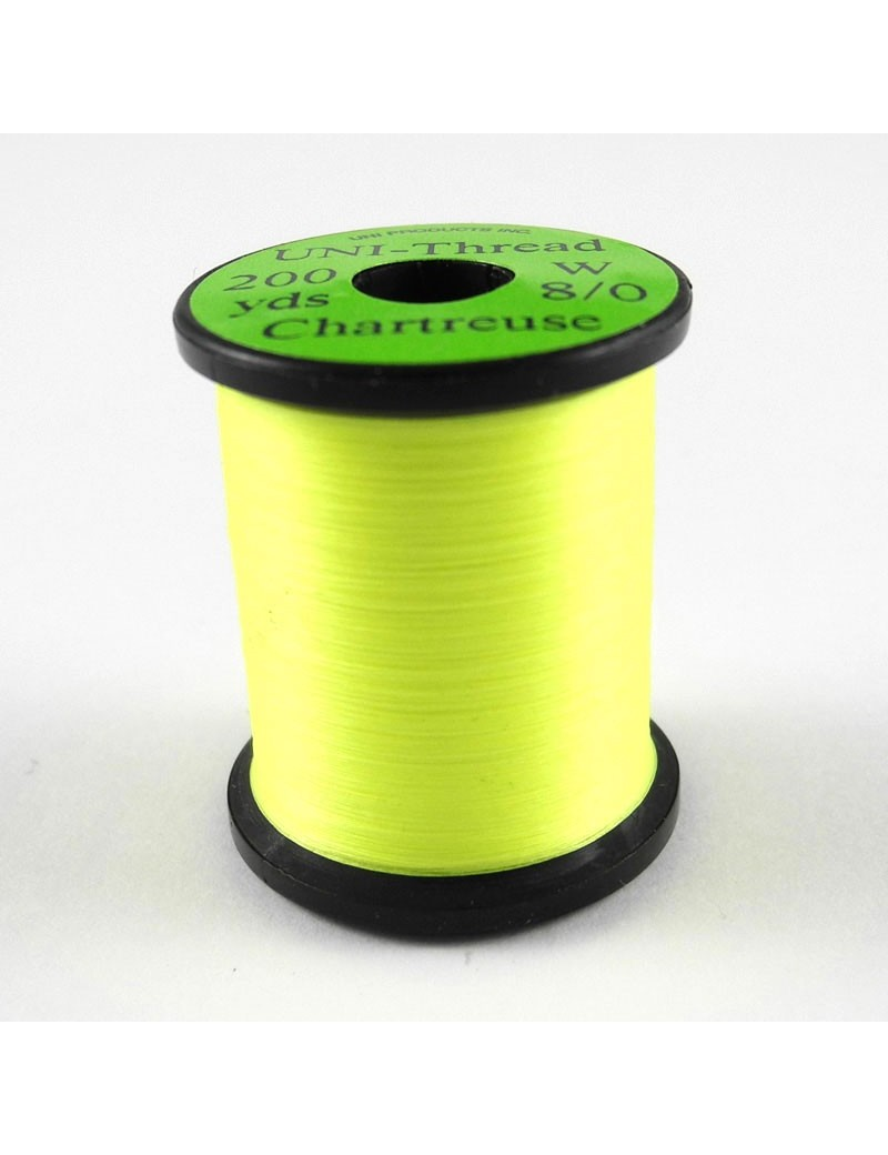 Fil UNI THREAD 8/0 Chartreuse