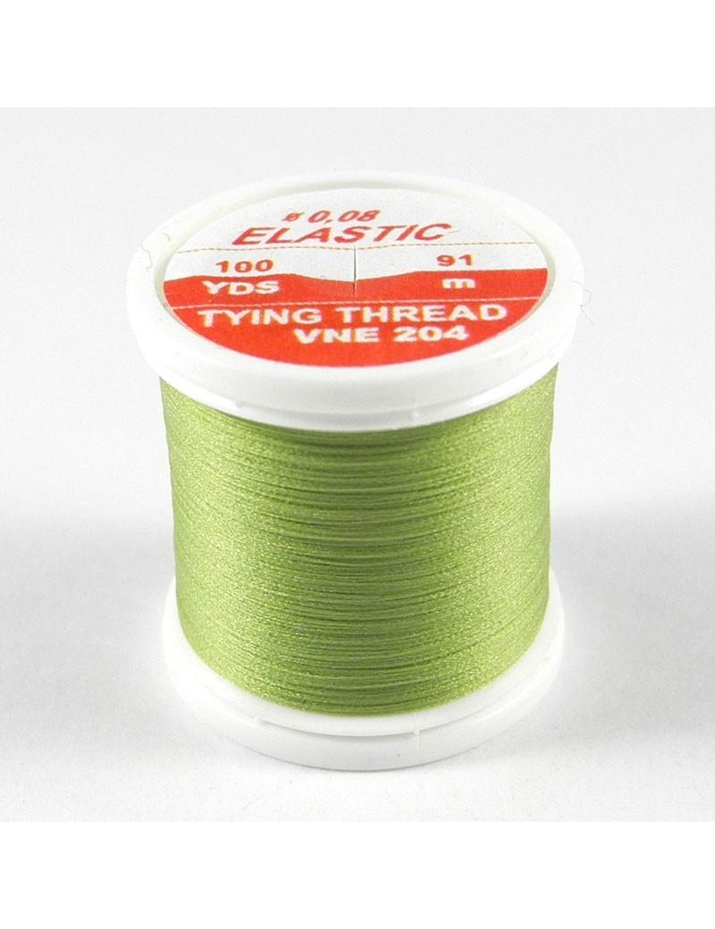 Elastic Floss Olive clair-204