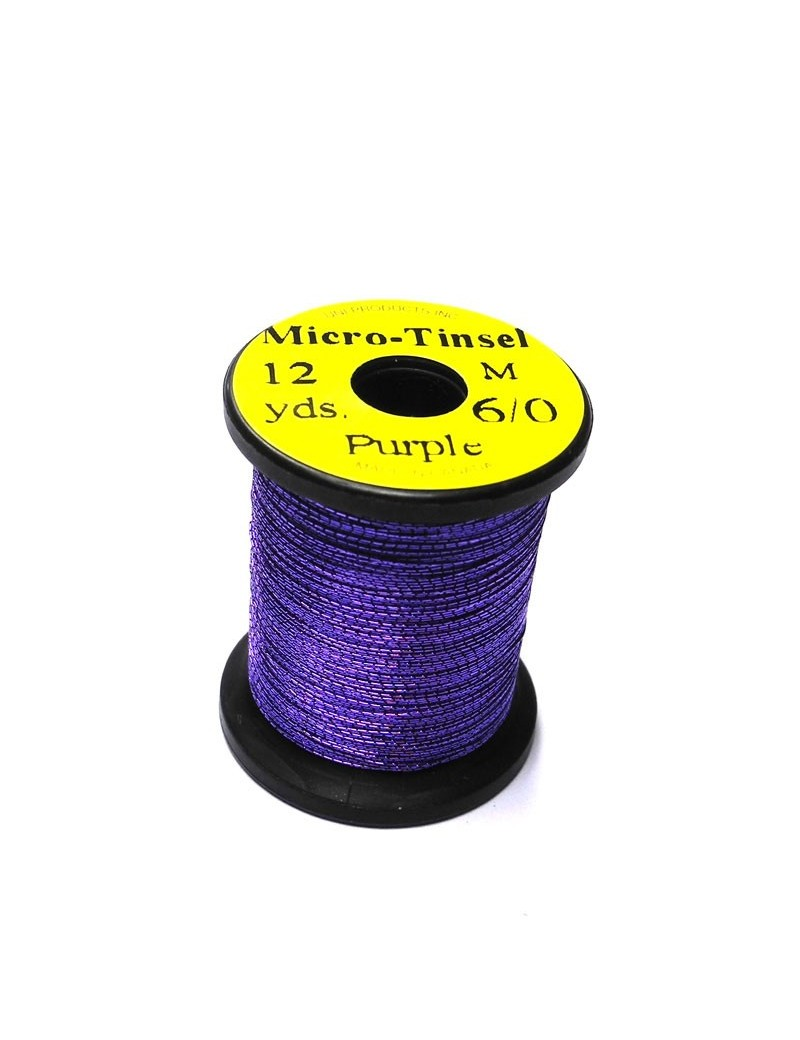 Micro Tinsel UNI Thread Pourpre