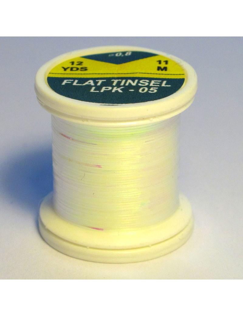Tinsel plat Blanc pearl-05