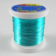 Fil de cuivre coloré Bleu-19