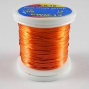 Fil de cuivre coloré Orange-26