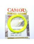 Queue de rat camou jaune fluo 9m