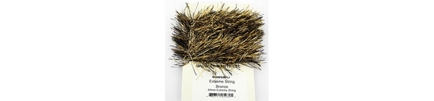 Chenille Etrême string-UV long hair